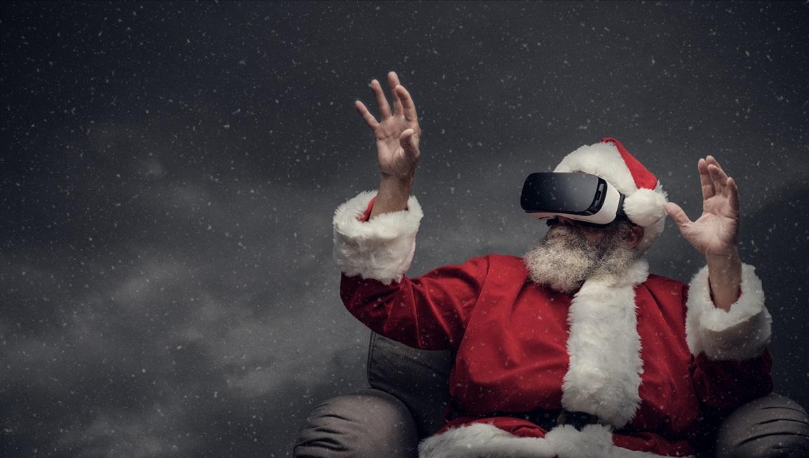 Digitale, virtuelle, online Weihnachtsfeier